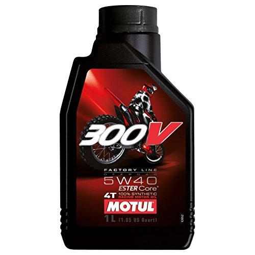 Motul 300V Factory line Sae 5W40 100% sintetico 4T