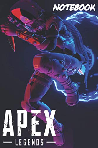 Notebook Apex Legends-Wraith Journal for Writing: College Ruled Size 6' x 9', 120 Pages