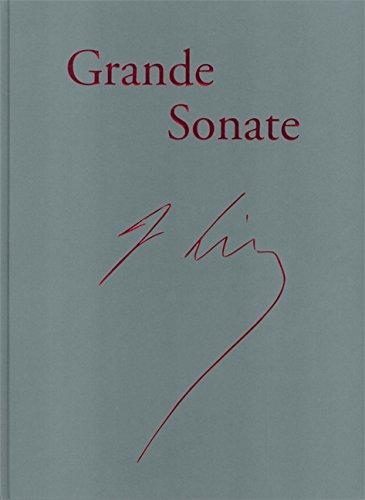 Klaviersonate h-moll, Faksimile der Handschrift