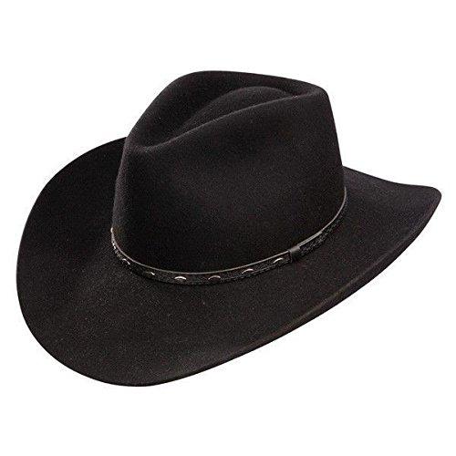 Amazon.com  Stetson Resistol Briscoe 3X Felt Western Cowboy Hat ... fc2c4f0c9614