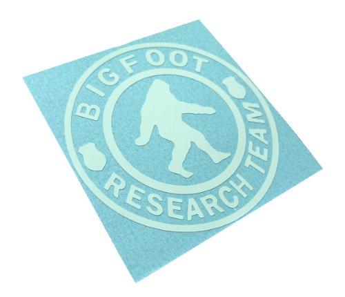 Funny Sasquatch Hunter American Vinyl US Forest Service Bigfoot DEPT Sticker