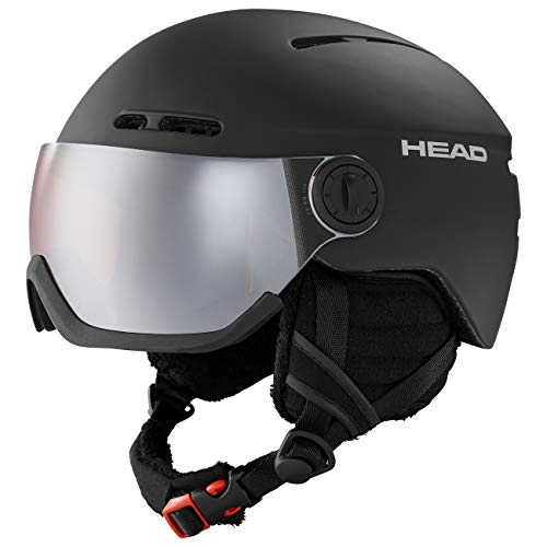HEAD Knight Skihelm, Black, XL/XXL (58-61)
