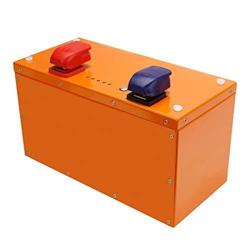 Shentec LiFePO4 Akku 12.8V 120Ah 1536Wh für Wohnmobil, Wohnwagen, Boot, Golfwagen (Ladegerät Nicht enthalten)