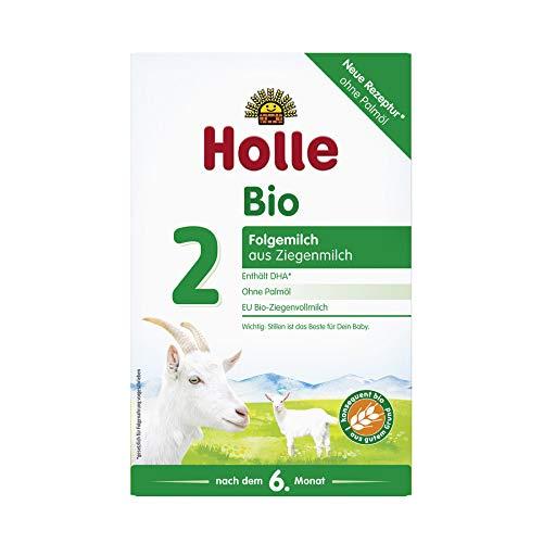 Holle Bio Folgemilch 2, nach dem 6. Monat, auf Ziegenmilchbasis, 400g