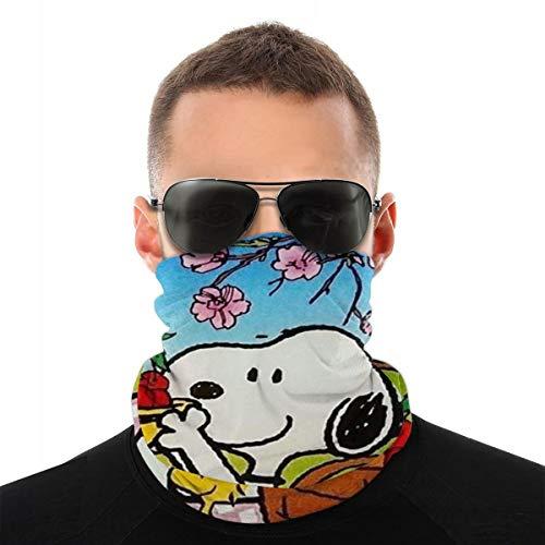 Xiaodong Snoopy Sport-Maske, Kopfbedeckung, Reitmaske, Stirnband, Bandana, Sturmhaube, multifunktional, atmungsaktiv, nahtlose Mikrofaser