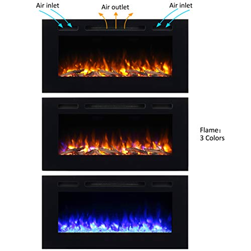 PuraFlame Alice Electric Fireplace