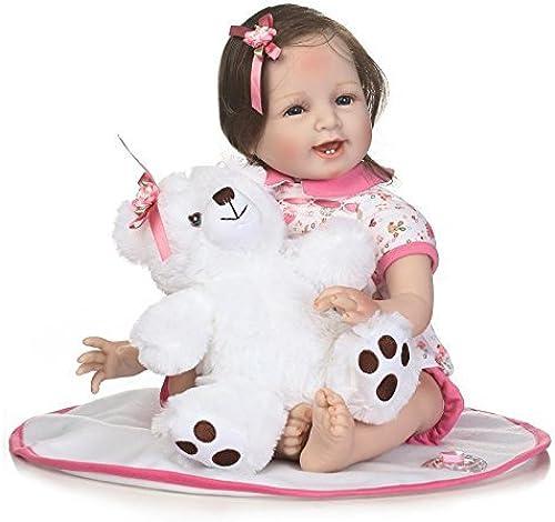 XL68chao 55 cm Silikon Reborn Boneca Realista Mode Baby Dolls Reborn für Prinzessin Kinder Geburtstagsgeschenk Reborn Puppen Kinder Spielzeug