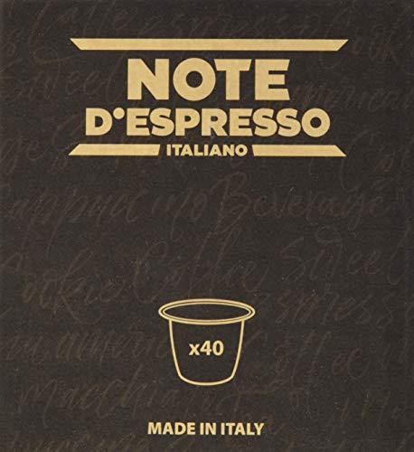 Note D'Espresso - Cápsulas de té verde exclusivamente compatibles con cafeteras Nespresso*, 3g (caja de 40 unidades)