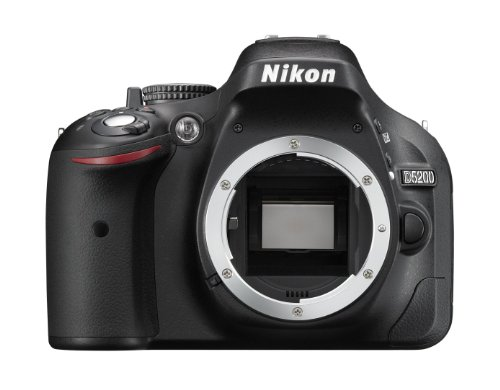 Nikon D5200 - Cámara Digital (24.1 MP, SLR Body, CMOS, Nikon F, TTL, Autoenfoque...