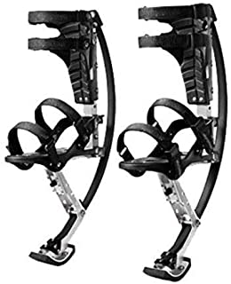 SEESEE.U Skyrunner Jumps Shoes Bouncing Shoes Bounce Boot Stilts Spring for Kid Youth,S