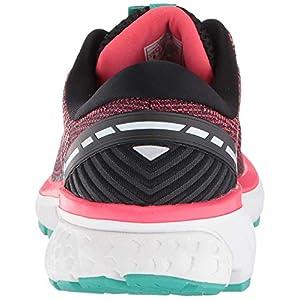 Brooks Women's Running Shoes, Multicolour Black Pink Aqua 017, US-0 / Asia Size s