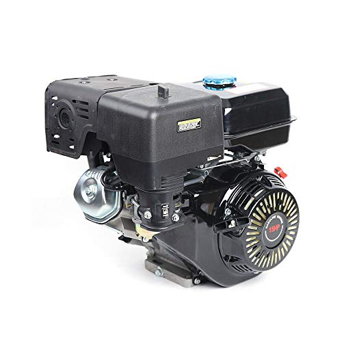 4Takt Benzinmotor, Benzinmotor 9 KW Keyway Kartmotor 15 HP 25 mm Einzylinder Mit Ölalarm Motor zum Industriemotor