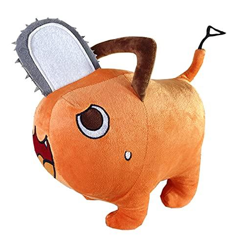 Chainsaw Man Pochita Plush Figure Stuffed Anime Toy Cosplay Prop (15.7in/40cm)
