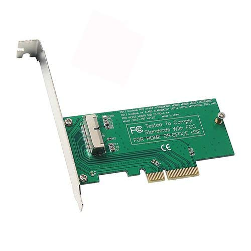 SSD to PCI-E 4X Adapter for MacBook Air 2013 2014...