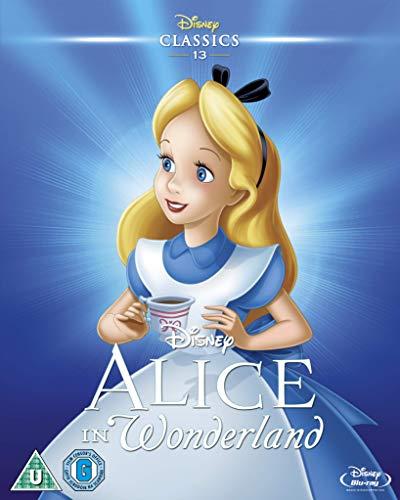 Alice In Wonderland BD [Blu-ray] [UK Import]