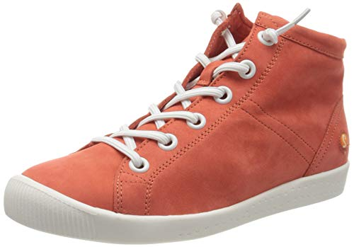 Softinos Damen ISLEEN2586SOF Hohe Sneaker, Rot (Devil Red 001), 38 EU