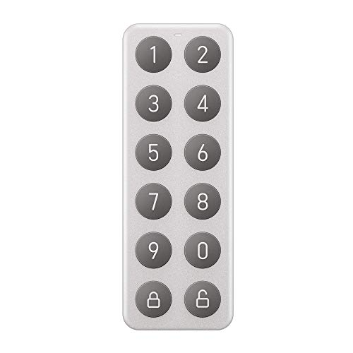 WYZE Completely Wireless Bluetooth Keypad That Allows You to Create, Share, and use Unique Codes to Unlock Lock, Sold Separately, Silver