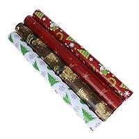 LEDMOMO ラッピングペーパークリスマス包装紙包装包装お花プレゼントギフト10枚(混合色)