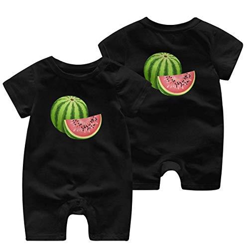 RROOT Sappige Suiker Watermeloen Fruit Zaden Pasgeboren Kinderen Korte Mouw Bodysuit Baby Kleding 0-24 Maanden