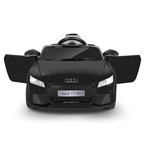 Metakoo Voiture Électrique Audi TT RS, 12V Véhicule Électrique Enfants avec Télécommande 2.4GHz, Vitesse Max....