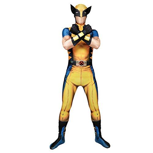 Offizieller Wolverine Morphsuit, Verkleidung, Kostüm - Xlarge - 5'10-6'1 (176cm-185cm)