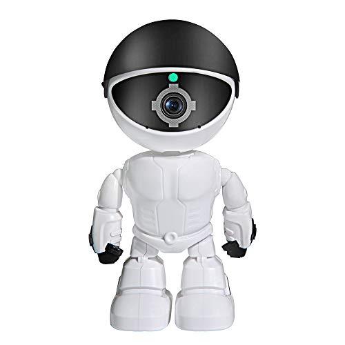Cámara IP inalámbrica, WiFi, cámara de vigilancia, visión nocturna de visión nocturna de cámara de robot inalámbrica