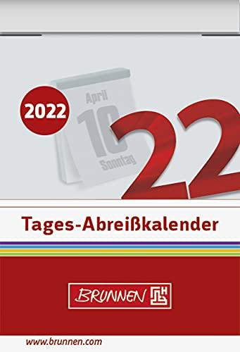 BRUNNEN ブルンネン 日めくりカレンダー 2022年度版 (No.1:6×4.2cm)