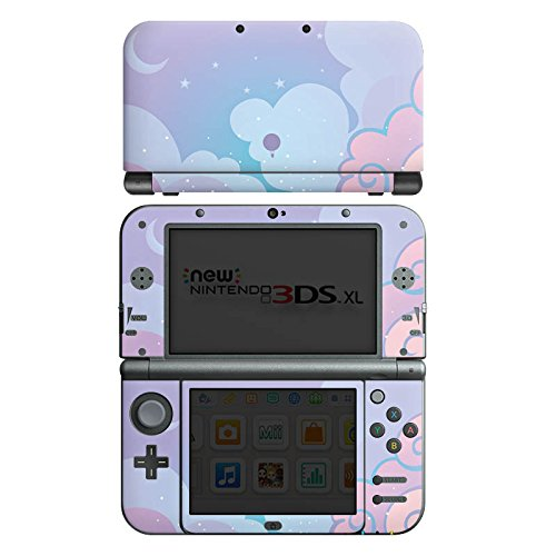 DeinDesign Skin kompatibel mit Nintendo New 3DS XL Folie Sticker Kinder Girl Style Himmel