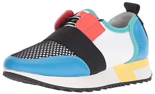 Price comparison product image Steve Madden Girl's JANTICS Sneaker,  Bright Multi,  3 M US Little Kid