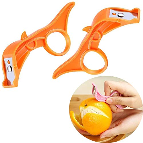 xiaomomo521 Potato, Vegetable, Apple Peelers For Kitchen, Fast Finger Ring Fruit Peeler, Hand Vegetable Peeler Palm Peeler Orange