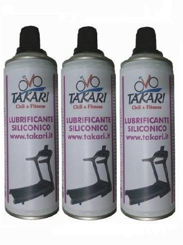 lubrificante siliconico Tapis roulant Tre Confezioni da 400ml cad.