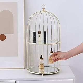 Luxe bureau-cosmetica-opbergrek creatief smeedijzer make-up standaard badkamer huidverzorging organizer container toiletar...