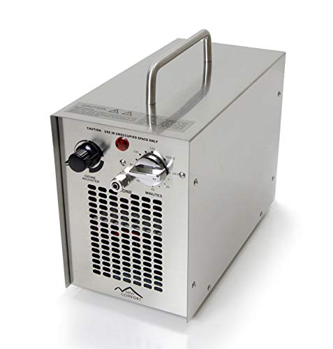 Scratch and Dent Dual Action Stainless Steel Commercial 5000 mg/h Ozone Generator and Purifier for Water and Air Use
