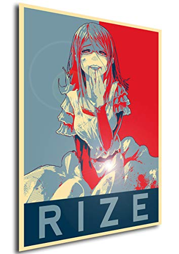 Instabuy Poster - Propaganda - Tokyo Ghoul - Rize Variant A4 30x21