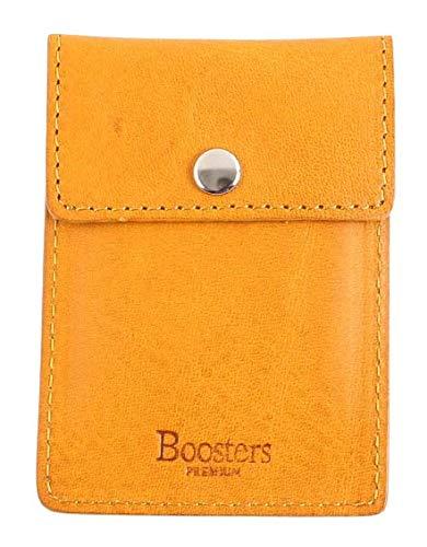 [Boosters] ブースターズ ミネルバボックス 携帯灰皿 革 おしゃれ アイコス におわない メンズ ナポリ