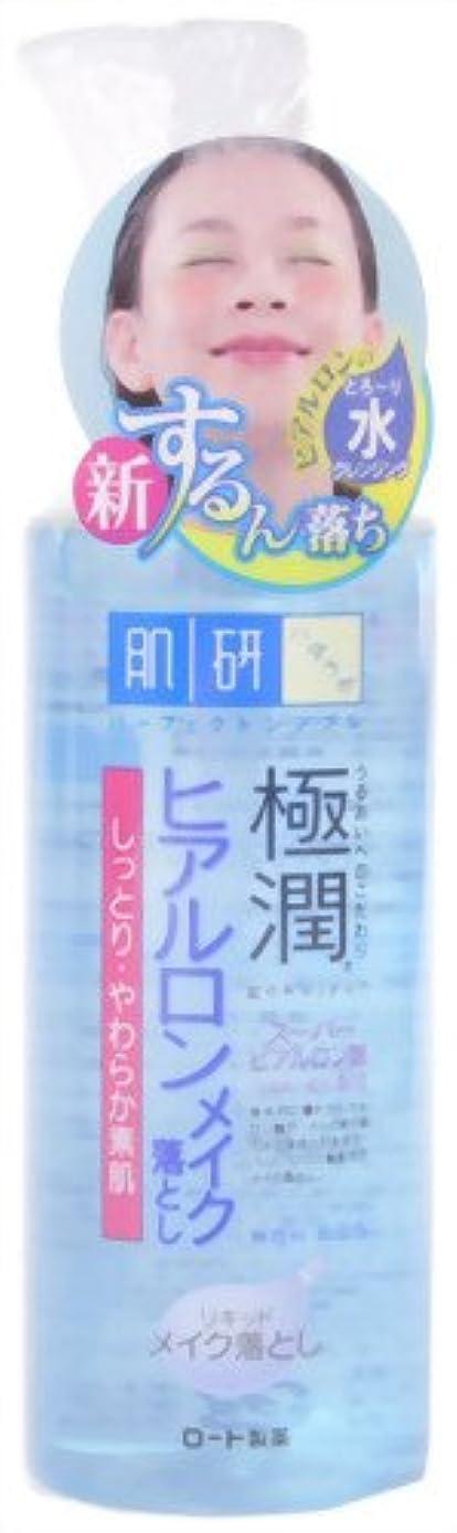 サイトリーフレットスタイル肌ラボ 極潤 ヒアルロン リキッド メイク落とし スーパーヒアルロン酸&吸着型ヒアルロン酸をW配合 200mL