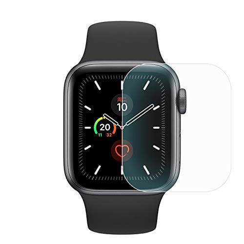 Screen Protector Compatible for Apple Watch Series 6 44mm, Explosion-proof Film Anti-Scratch High Definition Easy Installation Cover for Apple Watch S