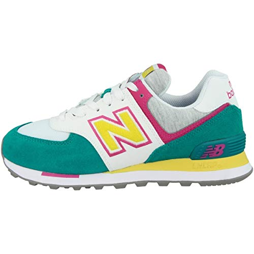 New Balance WL574VAD, Sneaker Mujer, Gris, 37.5 EU