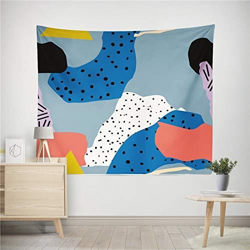 WERT Planta Abstracta Tapiz Colgante de Pared decoración del hogar Manta de Arte HD Sala de Estar Dormitorio Dormitorio Picnic Toalla de Playa A2 150x130cm