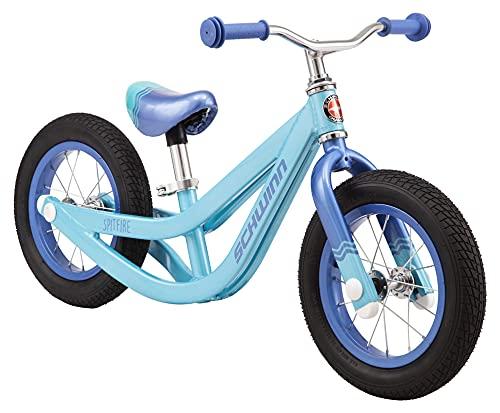 Schwinn Spitfire Girls Balance Bike, 12-Inch Wheels, Beginner Riders Ages 2-4 Years Old, Training Wheels Not Included, Teal