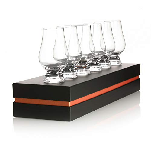 Eburya The Glencairn Tasting Glas Sixpack - 6 original Glencairn Gläser in edler Geschenkbox