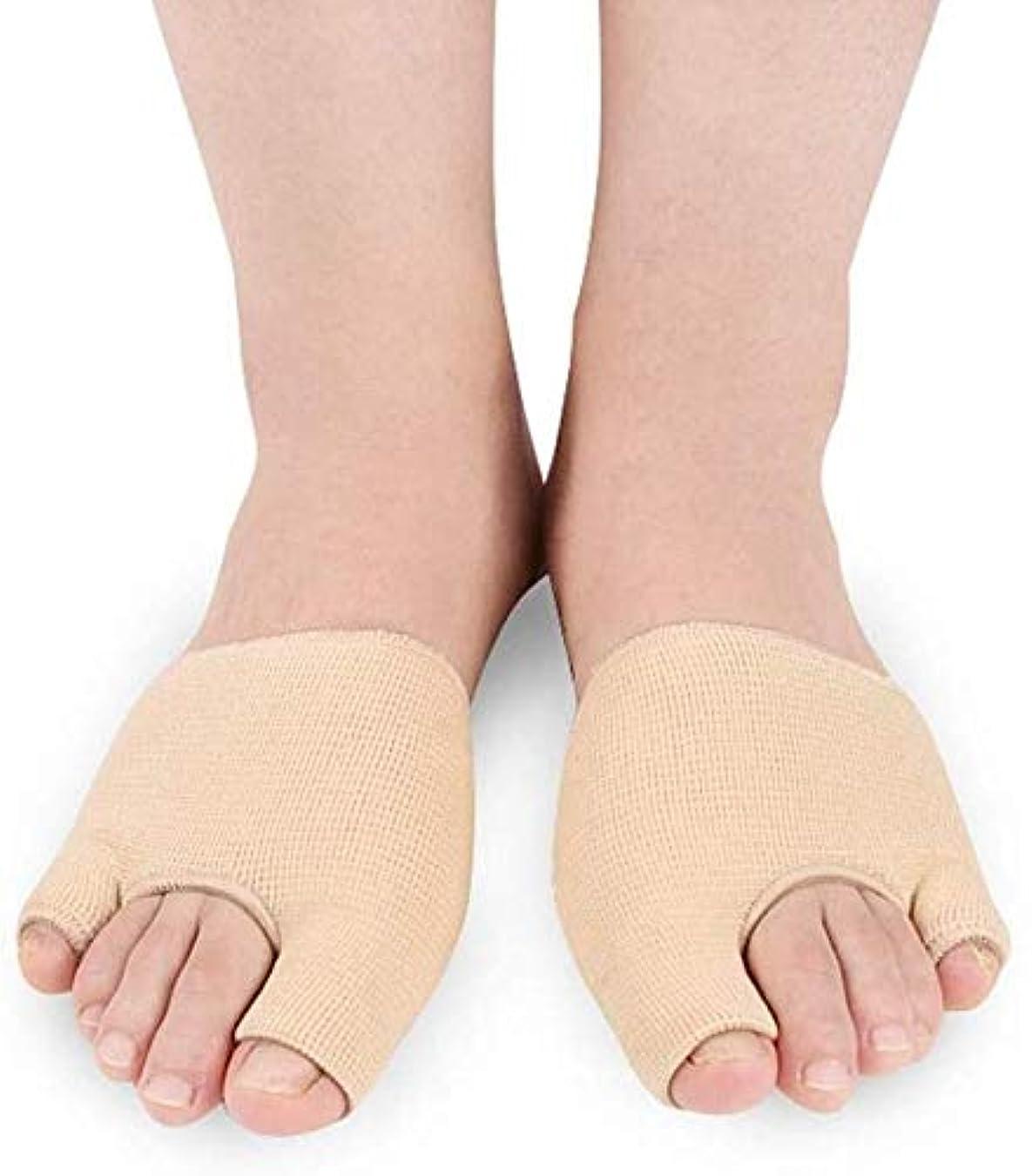 上取り戻す誇張バニオンコレクターのために痛みを軽減、足の親指セパレータ外反母趾ストレイテナー、足セパレータ腱膜瘤プロテクターデイナイトタイム外反母趾救済、外反母趾の痛みを軽減する(1ペア)のための調節可能な足ストレイテナーパッドクッションのために足を重ね合わせます (Size : Large)
