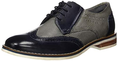 Daniel Hechter Herren 811687021111 Derbys, Grau (Light Grey/Dark Blue 1241), 44 EU
