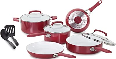 WearEver C944SA Pure Living Nonstick Cookware Set