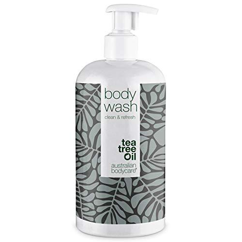 Australian Bodycare Body Wash 500ml | Teebaumöl Duschgel bei Unreiner & Trockener Haut, Pickeln, Juckreiz, Körpergeruch | Auch zur Pflege bei Pilzen, Fußpilz,...