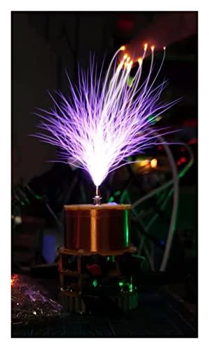 CIFE Lightning Artificielle Mini Musique Solide Tesla Bobine Tesla Outillage Outils d'enseignement sans Fil Transmission Bluetooth (Color : Without Power Supply)