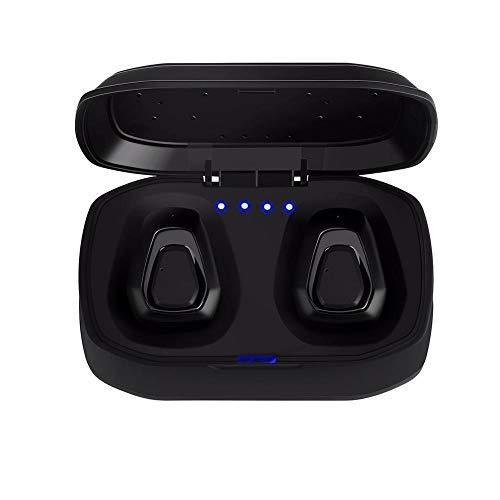 Bluetooth in-ear hoofdtelefoon Bluetooth 5.0 draadloze hoofdtelefoon draagbare Bluetooth stereo Tws on-ear sport zwart pistool kleur