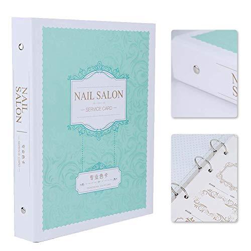Libro colori smalti, Espositore per nail art, Espositore per smalti per unghie Espositore per nail art che mostra mensola per unghie