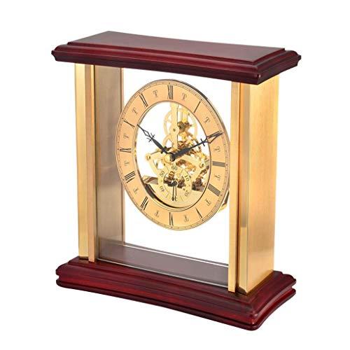 Reloj De Sobremesa con Campanillas, Reloj De Cristal, Reloj De Suelo, Sala De Estar, Decoración De Oficina, Reloj Simple, Arte, Relojes Decorativos