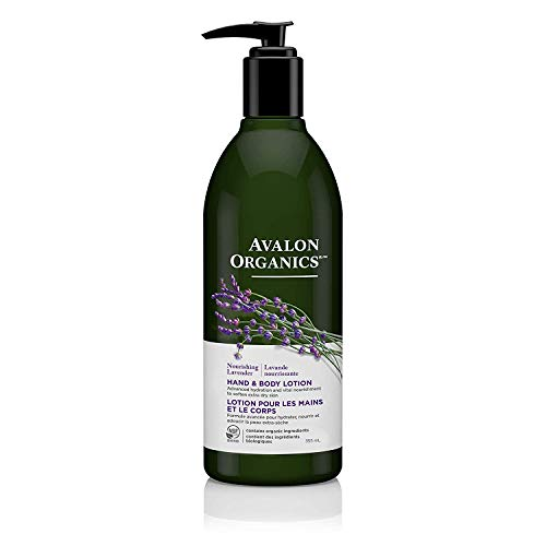 Avalon Organics Hand & Body Lotion, Nourishing Lavender, 12 Oz